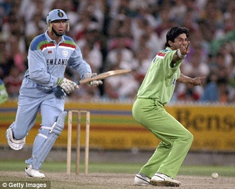 Wasim Akram - The final WC 1992