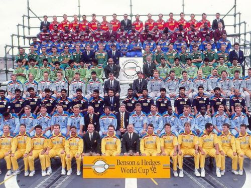 World cup 1992 - Group Photo